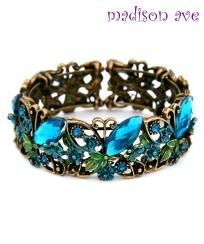 Blue Cuff Butterfly Bracelet New $12.00....in lust with this