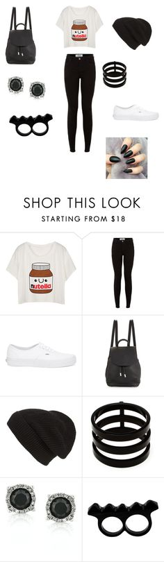 """Nutella schools days"" by theycallmepoopey ❤ liked on Polyvore featuring Vans, rag & bone, Phase 3, Repossi, Mark Broumand and L'Artisan Créateur"