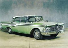 "GARAJ Klasik Oto on Instagram: ""1959 Edsel Corsair . #garajklasikoto #klasikotomobil #klasikoto #klasikaraç #klasikaraçlar #klasikotomobil #classiccars #classicauto"" Classic Cars, 1, Vehicles, Instagram, Vintage Classic Cars, Car, Classic Trucks, Vehicle, Tools"