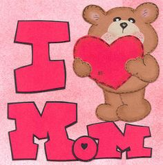 """""""I Love MOM' _____________________________ Reposted by Dr. Veronica Lee, DNP (Depew/Buffalo, NY, US)"""