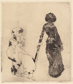 Degas's print of Mary Cassatt and  her sister at the Louvre