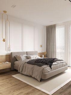 📌 Modern Bedroom Inspiration or Bedroom Design Ideas « ANIPO Home Decor Bedroom, Modern Bedroom, Master Bedroom, European Bedroom, Minimalist Furniture, Home Room Design, Suites, Apartment Interior, Luxurious Bedrooms