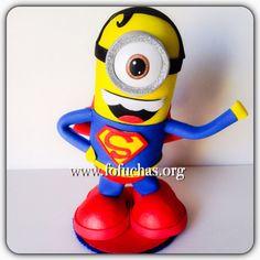 Superhero Mionion by CrochetNFofuchas on Etsy, $27.00  #Minions #SuperHeroBirthday #KidsBirthday