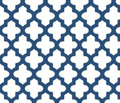 Moroccan Navy Blue Wallpaper would be perfect in a little boys room!!!!!!