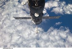 Feb 26, 2011. Space Shuttle Discovery approaches the International Space Station during STS-133 rendezvous and docking operations. A Russian Progress spacecraft docked to the space station is also featured in the image. NASA Image ISS026-E-030179 (full caption: http://ow.ly/9S3Rq)