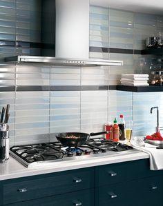 GE Monogram Kitchen in Teal