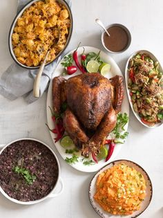 Kick up the heat with a Southwestern Thanksgiving menu. It's all about the spices!