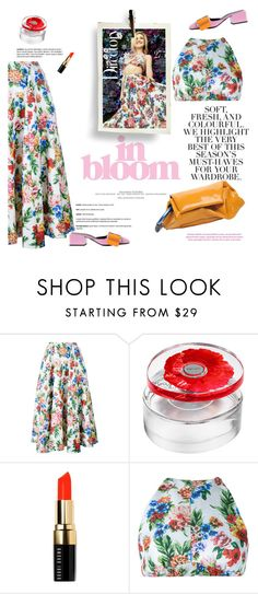 """Spring blooms"" by naki14 ❤ liked on Polyvore featuring Emilia Wickstead, Folio, Kenzo and Bobbi Brown Cosmetics"