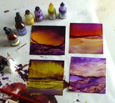 Yellow & Purple Blending Discoveries | Dreamscaping With June Rollins®