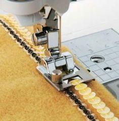 utilisation différents pieds de couture machine