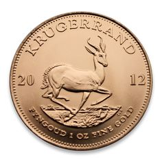 South African Krügerrand / Krugerrand 2012 1oz Fyngoud Fine Gold