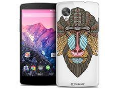 Coque Crystal Nexus 5 Extra Fine Summer - Babouin - 7,90 €