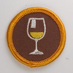 A merit badge for my accomplishments. Cool Patches, Pin And Patches, Sew On Patches, Iron On Patches, Embroidery Patches, Machine Embroidery, Girl Scout Patches, Girl Scout Badges, Daisy Girl Scouts