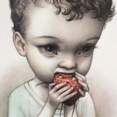 by Mab Graves ©Mab Graves Surrealism Painting, Pop Surrealism, Arte Lowbrow, Pop Art, Arte Pop, Creepy Cute, Dark Art, Art Pictures, Unique Art