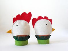 Easter Egg Decoration  Easter Table Decor  Chicken by BHBKidstyle, €7.50