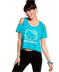 Hello Kitty Short Sleeve Top