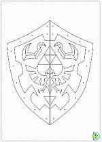 Hylian Shield Blueprint | Things to build | Zelda birthday ...