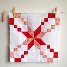 Circle Quilts, Star Quilt Blocks, Star Quilts, Mini Quilts, Scrappy Quilts, Quilt Square Patterns, Quilt Block Patterns, Pattern Blocks, Square Quilt