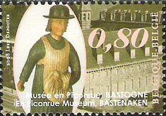 belgian stamps Musea.