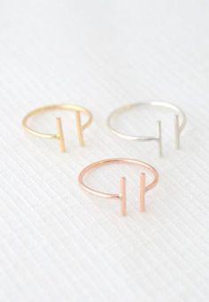 Adjustable Midi Bar ring