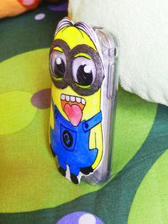 phone case minion handmade