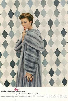 December Vogue 1953 kill for that coat❤