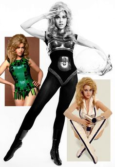 Jane Fonda as Barbarella (1968), Fonda's costumes by Paco Rabanne (as Paco Rabane)