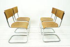 Vintage Stühle - BAUHAUS FREISCHWINGER MART STAM ENTWURF - ein Designerstück von ferdinand-christall bei DaWanda