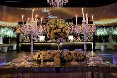 Casamento clássico: Thais & Marcos - Inesquecível Casamento Wedding Reception Decorations, Table Decorations, Candles, Classic, Home Decor, Classic Wedding Decor, Weddings, Wedding, Future