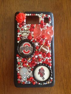 OHIO droid      I can make anything on any case !!I keep iPhone cases In stock and will order any case for you and the turn around to get a case to you is 7-10 days !!! 25 $ and up. Depending on case and 1.70 shipping  I can make any team Any color any time !!