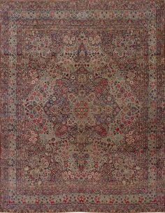 Matt Camron Rugs & Tapestries Antique Persian Kerman Lavar Rug