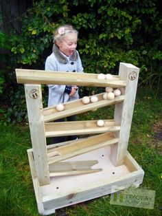 Indoor / Outdoor Ball Tower - Timotay Playscapes - The Best Outdoor Play Area Ideas Outdoor Play Spaces, Kids Outdoor Play, Kids Play Area, Outdoor Learning, Backyard For Kids, Backyard Play Spaces, Play Yard, Indoor Outdoor, Outdoor Baby