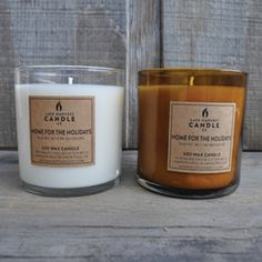Artisanal Soy Candles by Late Harvest Candle Co.