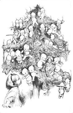 [kewpietree.jpg] the paper collector