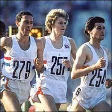 Steve Ovett, Steve Cram and Seb Coe