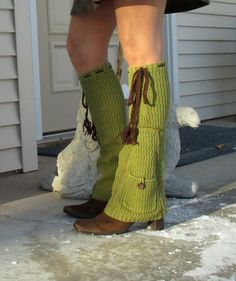 Pocket flair leg warmers