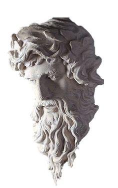 Hercules Head Greek God Stone Finish Wall Décor