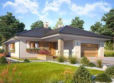 Bianka - zdjęcie 1 Cottage Plan, Gazebo, House Plans, Outdoor Structures, Outdoor Decor, Home Decor, Home Plans, Home, Poland