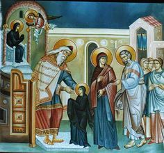 Byzantine Icons, Orthodox Icons, Little Sisters, Christ, Projects To Try, Painting, Entrance, God, Dios