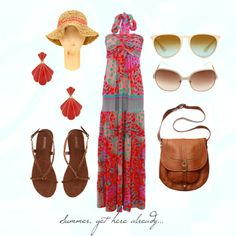 Summer, created by discosmama on Polyvore