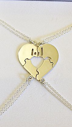 """Sterling Silver Puzzle MINI- Necklace with """"I Love You"""" sign by CopperfoxGemsJewelry on Etsy https://www.etsy.com/listing/292397697/sterling-silver-puzzle-mini-necklace"""