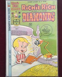 RICHIE RICH Diamonds Harvey Comic Book No. 36 April 1978 F+ Harvey Comics: $2.95 (0 Bids) End Date: Sunday Jun-10-2018 19:48:53 PDT Bid now…