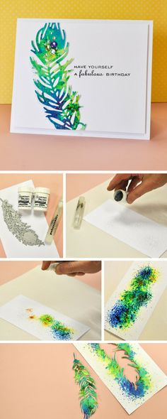 How to make a beautifully handmade peacock card using Sizzix dies. If you're stuck for card ideas, this simple & easy papercraft is perfect for any loved one- cardmaking - handmade cards - sizzix big shot ideas - big shot ideas