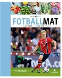 http://www.adlibris.com/no/product.aspx?isbn=8205472963&gclid=CPW30JvUzsICFWSWtAodaU8AtQ | Tittel: Fotballmat - Forfatter: Mette Møller - ISBN: 8205472963 - Vår pris: 262,-
