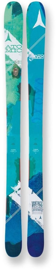 2c8985a025 Atomic Women s Vantage 95 C Skis 154 Cm Conception De Snowboard