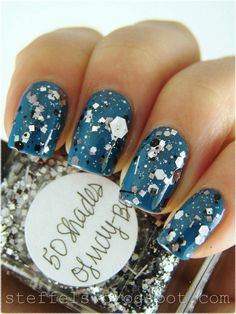 steffels: one coat of Lynnderella 50 Shades of May-Be over OPI Suzi Says Feng Shui