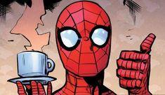 he is a wholesome guy Bd Comics, Marvel Comics Art, Marvel Heroes, Marvel Avengers, All Spiderman, Amazing Spiderman, Spectacular Spider Man, Spider Verse, Cartoon Wallpaper