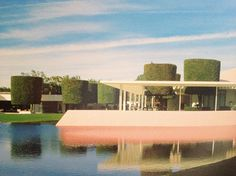 Sunnylands, Annenberg Residence by A. Quincey Jones, Palm Springs, CA, 1966