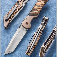 Frank Hunter (@hunterhandmadeknives) • Instagram photos and videos Cool Knives, Cold Steel, Folding Knives, Knifes, Tactical Gear, Firearms, Edc, Photo And Video, Videos