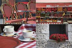 Paris as a Color Palette - red